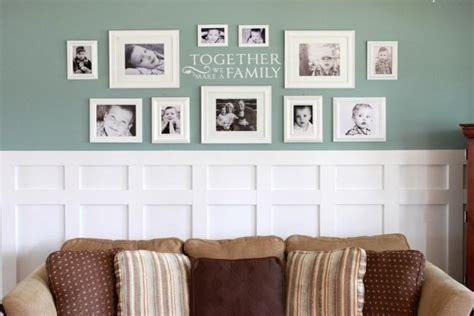 cadre photo d 233 coration murale bricolage maison et d 233 coration