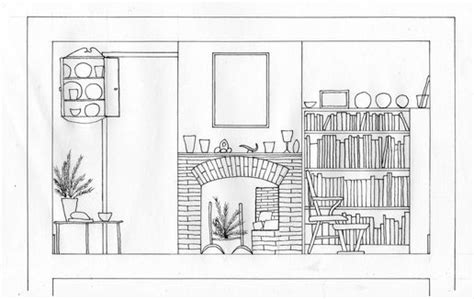 interior design section drawings simple section drawing of kettles yard at interior design