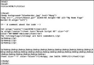 html code jan s html basics code exle