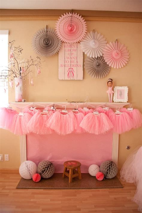 cute themes for birthday parties kara s party ideas ballerina themed birthday party ideas