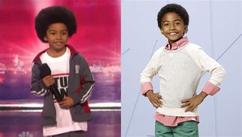 miles brown america s got talent miles brown of black ish competes on america s got talent