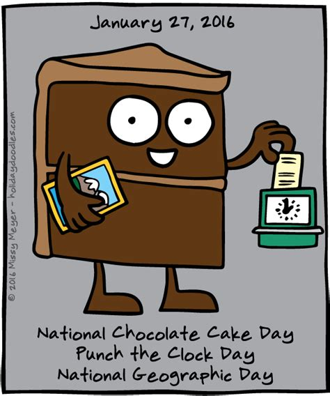 by rachael on january 27 2016 january 27 2016 national chocolate cake day punch the