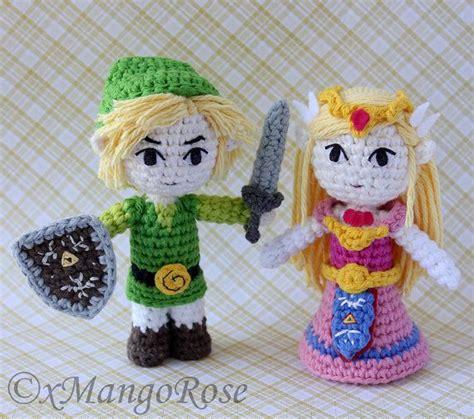 zelda plush pattern toon princess zelda amigurumi doll plush crochet by