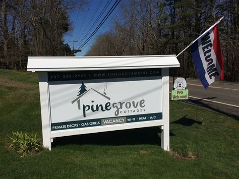 Pine Grove Cottages Maine by Pine Grove Cottages Visit Maine