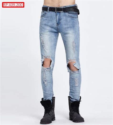 Robek Pria 10 Model Celana Robek Lengkap Murah Dan Cantik