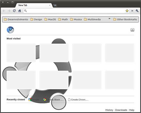 google chrome themes for ubuntu artwork incoming ubuntu black magic google chrome theme