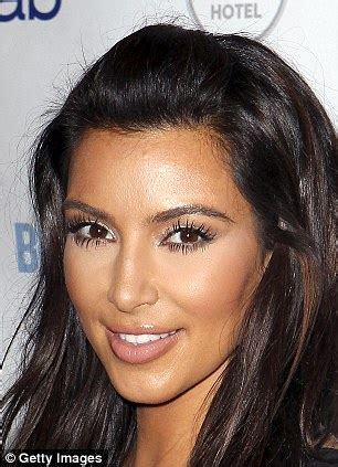 kim kardashian looks very different as a 10 year old in keeping up with kim k s ever changing face lipstick alley