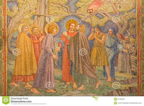 jerusalem  mosaic   betrayal  jesus