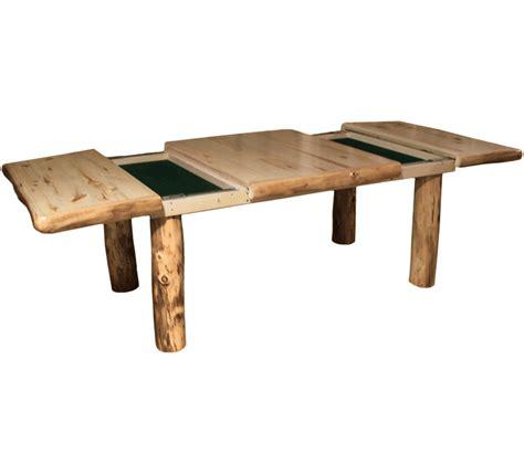 Log Dining Tables Aspen Log Square Dining Table Rustic Log Furniture Of Utah