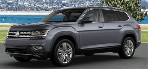 volkswagen atlas color options