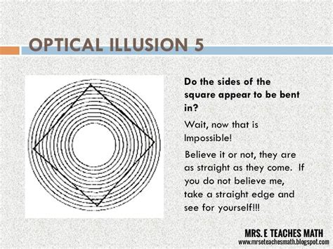 printable optical illusions lesson plans how and why i teach optical illusions mrs e teaches math