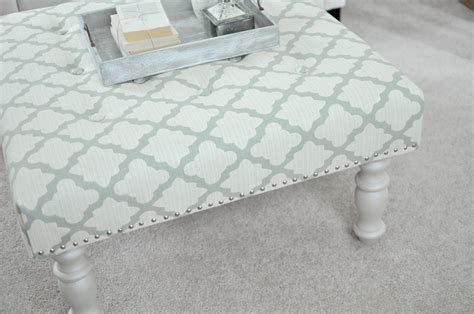 Diy Upholstered Ottoman Not So Newlywed Mcgees Diy Upholstered Ottoman