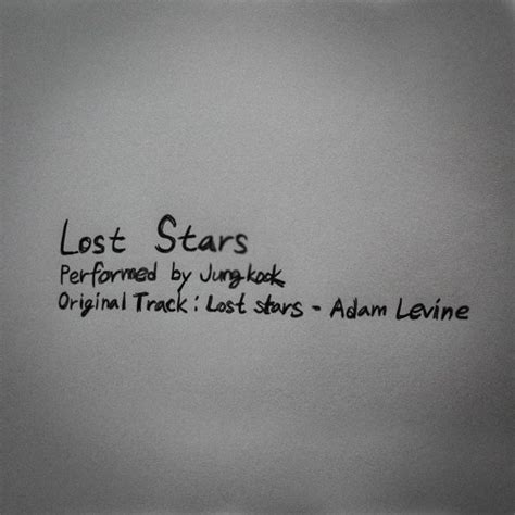 bts soundcloud lost stars by jung kook by bts free listening on soundcloud