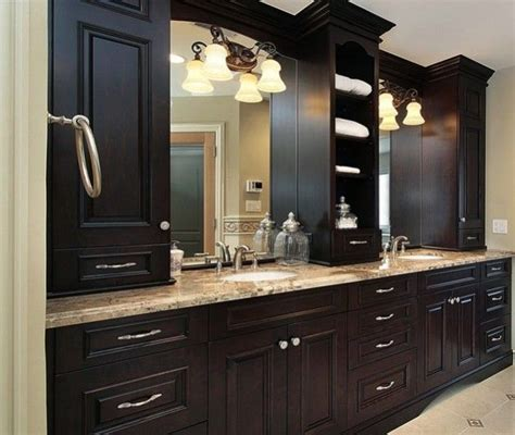 Basement Bathroom Vanity For The Home Pinterest Bathroom Countertop Storage Cabinets