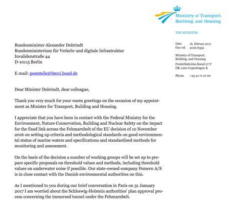 Beschwerde Brief An Vermieter Beschwerdebrief Aus Kopenhagen Ein Unding Beltretter