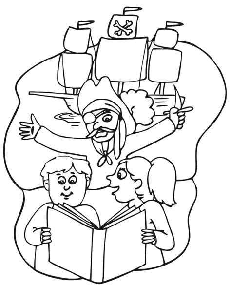 pirate coloring pages for kids coloring home