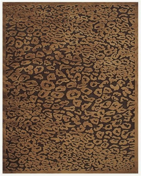 Area Rugs Animal Print Chocolate Animal Print Area Rug Homeroom Pinterest