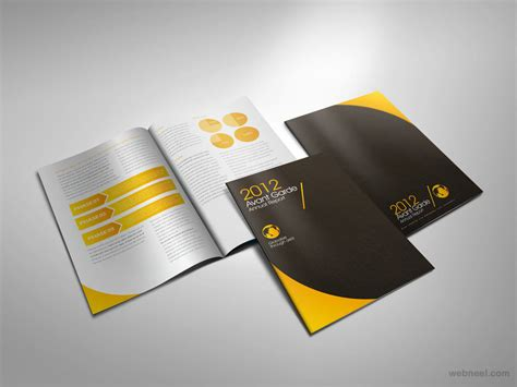 leaflet design creative creative brochure design 19
