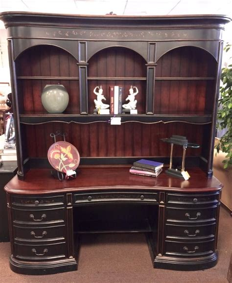 seven seas desk two tone seven seas desk with hutch 1499