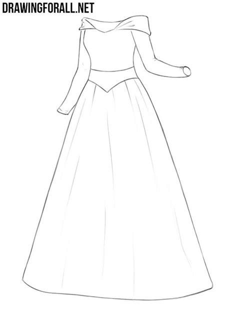 draw  princess dress drawingforallnet