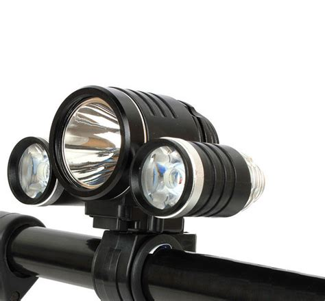 High Power Headl Led Cree 3000lm 10w high power cree 3 xml t6 led bicycle bike light l 2 in 1 battery
