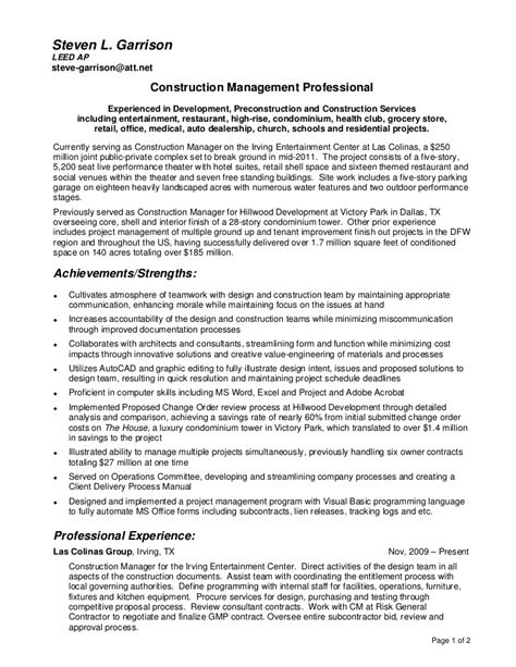 Detailed Resume Resume And Detailed Project History