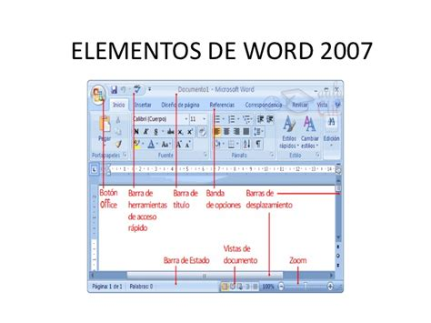 partes de la ventana de microsoft word office de 2016 partes de la ventana de microsoft word office de 2016