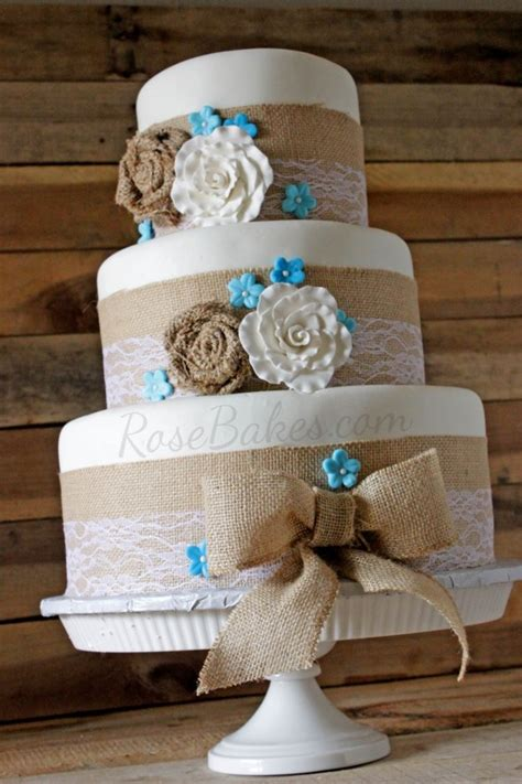 Fourth Of July Home Decorations by Burlap Amp Lace Rustic Wedding Cake Rose Bakes