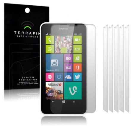 Screen Guard Ruby Nokia 630 terrapin nokia lumia 630 635 screen protector 6 pack