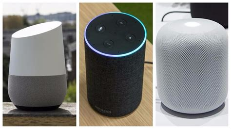 battle of the smart speakers google home vs amazon echo google home vs amazon echo vs apple homepod which smart