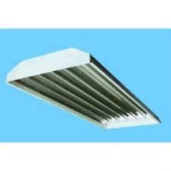 High Output Fluorescent Light Fixtures 4 T5 6 L High Output Fluorescent Light Fixtures High Low Bay Mirrored New Ebay
