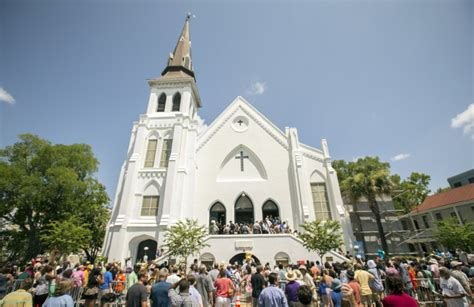 shooting at church charleston photos scene of charleston south carolina church