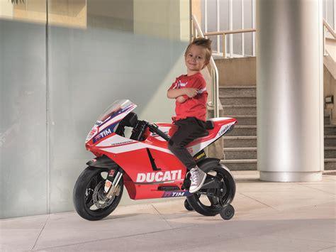 Ducati Elektromotorrad by Kinder Elektromotorrad Peg Perego Ducati Desmosedici Gp