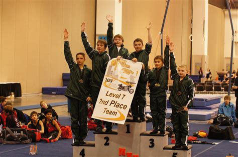 great northern gymnastics boy s teams compete at the