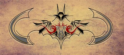 tattoo batman tribal batman tribal tattoo designs batman tattoos