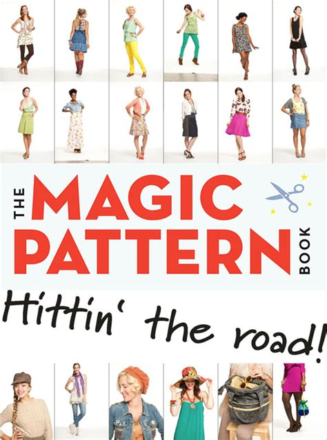 magic pattern book amy the magic pattern book is hittin the road workman