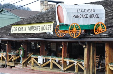 log cabin pancake house gatlinburg tn log cabin pancake house located at red light 8 on historic nature trail road in