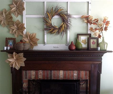 better homes and gardens fall decorating fall mantel decorating ideas from better homes and gardens