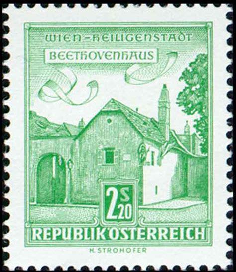 haus der briefmarke beethoven haus 1962 briefmarken kunst und kultur im