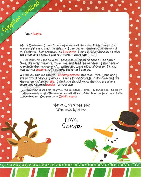 letter from santa claus pole santa letters pole letters from santa claus