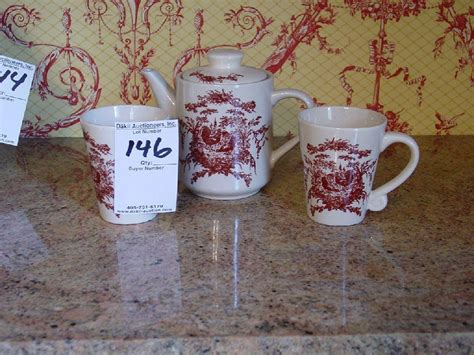 California Pantry Ceramics by Classic Ceramics California Pantry Coffee Tea Pot And Two