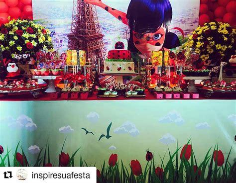 ideas  decorar fiesta infantil de miraculous  ladybug