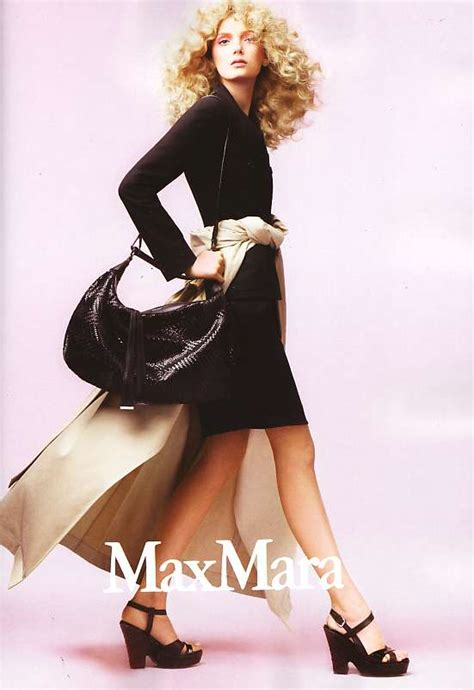 Donaldson Modelling For Max Maras 2008 Advertising Caign by Publiciteslilydonaldson2 Publicites Donaldson2