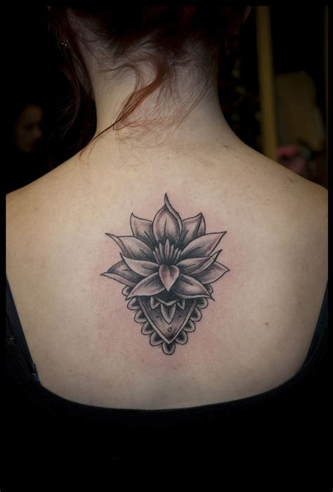 tribal lotus tattoos 26 exceptional white lotus ideas