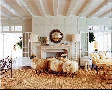 designer loves lalanne sheep sculptures