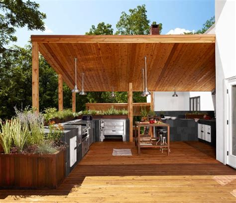 desain dapur minimalis outdoor bentuk rumah minimalis modern dengan dapur outdoor