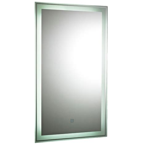 glow touch sensor backlit mirror bhs home improvements