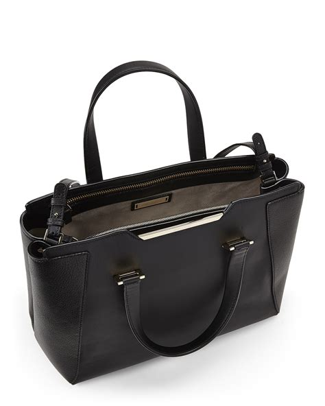 jimmy choo black alfie l tote bag in black lyst