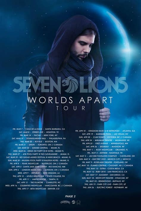 World Appart by Review The New Seven Lions Ep Is Worlds Apart From The