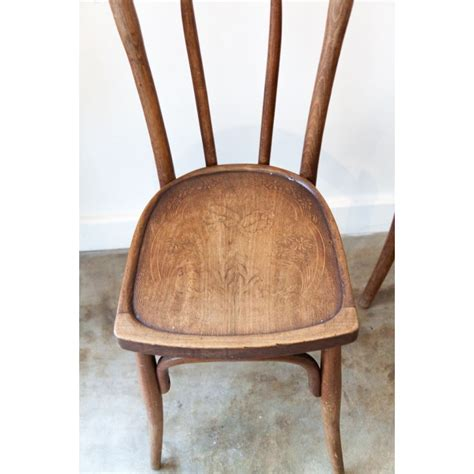 Chaises Bistrot Thonet by Paire De Chaises Bistrot Thonet